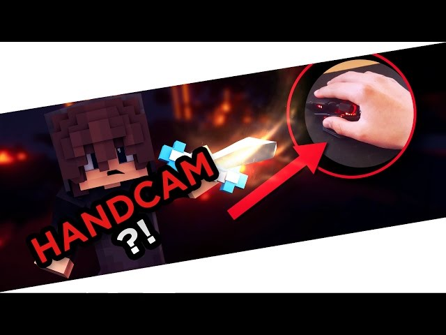 HANDCAM?! - Minecraft SkyWars #1