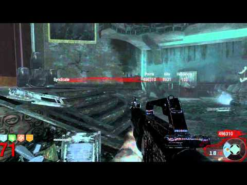 Black Ops Zombies: 9,000 Kills round 71 ! Kino Der Toten - TheSyndicateProject